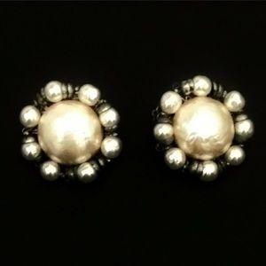 Knockout Statement Vintage Large Earrings